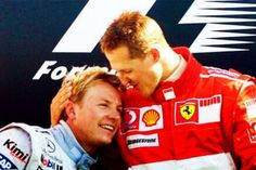 My thoughts are with Michael and his family. Kimi Raikkonen tweet 30 Dec