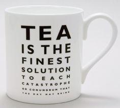 Tea Eye Test Mug by Merchant & Mills