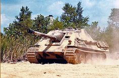 Jagdpanther in action | GLORY. The largest archive of german WWII images | Flickr