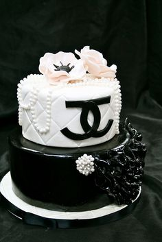 Coco Chanel Th Birthday Baking And Some Pinterest Coco - 35th birthday cake ideas