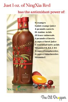 NingXia Red Say what? (Neen-shah Red) is how this yummy antioxidant-filled drink is pronounced. Young Living really knew what they were doing when they put this healthy supplement together. The NingXia Wolfberry is a powerful antioxidant drink . We are… Read more ›