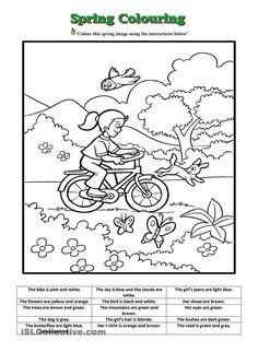 Spring Colouring worksheet Free ESL printable worksheets made by teachers Hindi Worksheets, English Grammar Worksheets, 1st Grade Worksheets, Science Worksheets, Vocabulary Worksheets, Worksheets For Kids, Adverbs Worksheet, Number Worksheets, Printable Worksheets