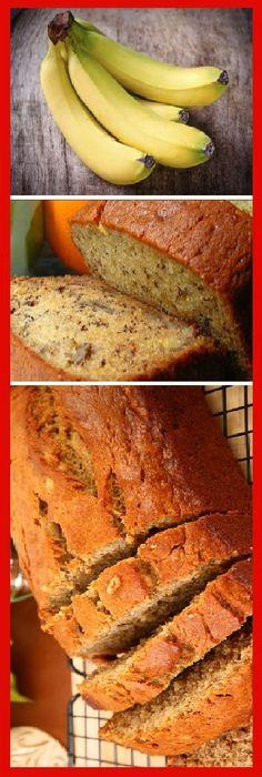 Haz este pan de plátano sin harina, súper saludable y rico.   #receta #recipe #casero #torta #tartas #pastel #nestlecocina #bizcocho #bizcochuelo #tasty #cocina #cheescake #helados #gelatina #gelato #flan #budin #pudin #flanes #pan #masa #panfrances #panes #panettone #pantone #panetone #navidad #chocolate Si te gusta dinos HOLA y dale a Me Gusta MIREN...