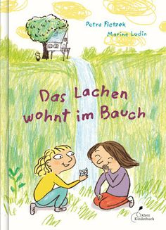 Marine Ludin Blog: Das Lachen wohnt im Bauch, Klett Kinderbuch Illustrator, Textbook, Book Worms, Winnie The Pooh, My Books, Disney Characters, Fictional Characters, Gras, Comics