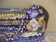 תיק בסגולים, אפורים וצהובים | Flickr - Photo Sharing!