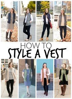 How to Style a Vest | Something Good | A Style Blog on a Budget - http://www.somethinggoodblog.com/2017/01/how-to-style-a-vest.html