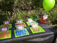 10 Mine Inspired Food Tent Cards by ArieDesigns85 on Etsy