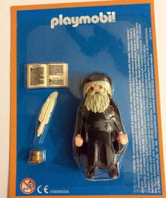 PLAYMOBIL SPECIAL LEONARDO DA VINCI  RARE BLISTER - LIMITED EDITION - COLLECTORS Best Mobile, Bavaria, Perler Beads, Legos, Miniatures, Ebay, Children, Disney, Fun