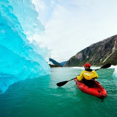 Take a journey to planet ice - Alaska Travel Recommendations - Sunset