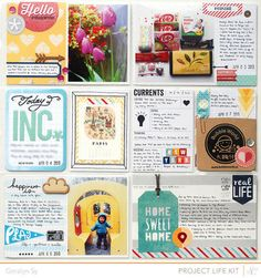 Project Life April (2) - @Abbey Adique-Alarcon Adique-Alarcon Adique-Alarcon Adique-Alarcon Phillips Mounier Calico May Kit