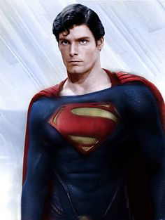 "the-dc-archives: "" Man of Steel ""New 52"" Superman — Christopher Reeve This is so cool. """