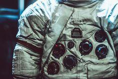 Apollo Spacesuit Apollo from program Gemini for Apollo 7 through Apollo 14 Spacecraft, Astronaut, Apollo, Gemini, Military Jacket, Bomber Jacket, Deviantart, Jackets, Fashion