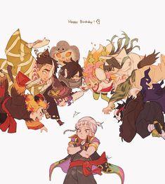 Read Kimetsu No Yaiba / Demon slayer full Manga chapters in English online! Manga Anime, Me Anime, Anime Angel, Anime Demon, Anime Art, Demon Slayer, Slayer Anime, Chibi, Demon Hunter