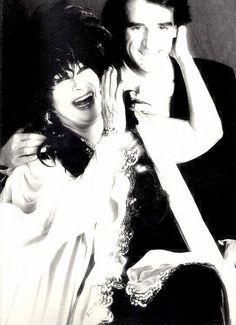 Milestones 1989-1997  Yma Sumac and Lloyd Klein circa 1992