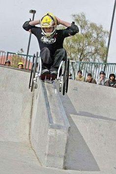 Crazy Sports: Extreme Wheelchair Athlete