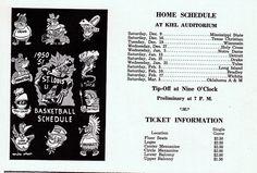 SLU Billikens schedule 1950-51