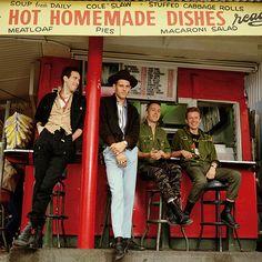 Mick Jones,Paul Simonon,Joe Strummer and Terry Chimes.