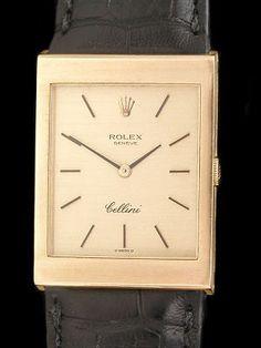 Rolex Cellini Solid Gold Dress Watch Repair Caliber 1602