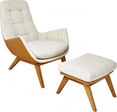 DENA Sessel mit Stoffbezug - Habitat