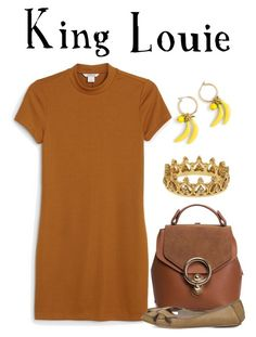 King Louie / The Jungle Book by waywardfandoms on Polyvore featuring polyvore fashion style Monki Office Eternally Haute J.Crew clothing