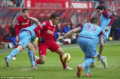 FC Twente are hoping to sell 17-year-old starlet Bilal Ould-Chikh (centre) to Manchester United
