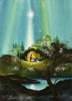 Abstract Nativity - Religious from CardsDirect