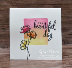 Video tutorial using the Love What You Do stamp set and the clear block stamping technique. Stampin' Up!