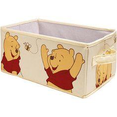 Winnie the Pooh basket for nursery