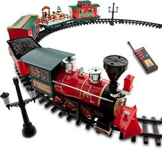 Fisher Price Geotrax North Pole Express Christmas Train Set. The ...