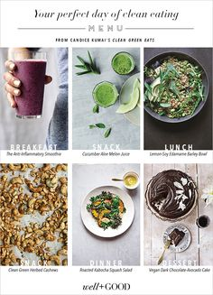 Your perfect day of clean eating