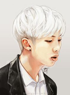 Rap Monster fan art | BTS fan art
