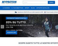 MyProtein, integratori,proteine e molto altro, grande qualita prezzi piccoli.