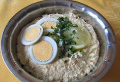 Tojáskrém ahogy Helga készíti Hummus, Breakfast Recipes, Brunch, Ethnic Recipes, Food, Vaj, Kitchen, Spreads, Cooking