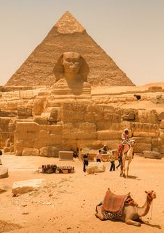 Great Sphinx of Giza, Cairo, Egypt beckons! Also I need to prepare myself for an Egypt trip. Places Around The World, Oh The Places You'll Go, Travel Around The World, Places To Travel, Places To Visit, Travel Destinations, Africa Destinations, World Famous Places, Travel Deals
