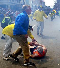 Terrorism strikes Boston Marathon as bombs kill 2, wound dozens [ April 15, 2013] - Pray for the victims.
