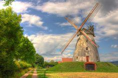 Windmill Porta Westfalica-Germany