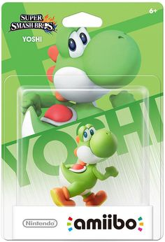 Nintendo Wii U Amiibo YOSHI Figure NFC Super Smash Brothers Bros 3DS Mario Kart #NintendoAmiibo
