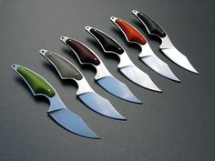 lerman custom knives | Neck knives