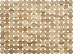 Octagon Placemat in Placemats | Crate and Barrel