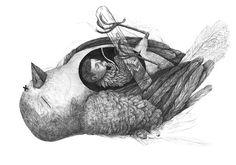 Beasts - Drawings 2014 | Stefan Zsaitsits