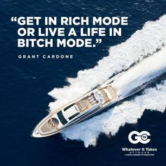 Some of Grant Cardone's best motivational and inspirational sayings displayed in a great graphic way. Entrepreneur Motivation, Entrepreneur Quotes, Make Money Now, Make Money Online, Grant Cardone Quotes, Boss Babe Quotes, Millionaire Quotes, Work Motivation, Dream Quotes