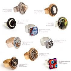 Great rings from Nunn Design.