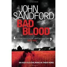 john sandford books. own all of them. excellent.