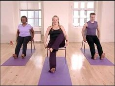 Stronger Seniors Chair Yoga Hips & Legs Sequence