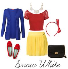 I could totally go to work as Snow White