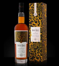 Spice Tree scotch whisky featured in the Lovely Package. Packaging design by Stranger & Stranger