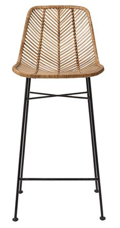We know that good things happen when rattan meets metal in a comfy and attractive seating unit. They're happening here, with the Broeder Rattan Bar Stool, making an entertaining counter awash with a li... Find the Broeder Rattan Bar Stool, as seen in the A California Beach House Collection at http://dotandbo.com/collections/a-california-beach-house?utm_source=pinterest&utm_medium=organic&db_sku=118851