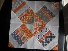 X on a String Quilt Block
