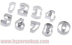 Formy na vykrajovanie čísla Big Cookie Cutters, Cufflinks, Wedding Cufflinks