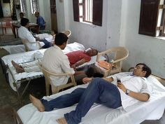it was great to see people coming up for blood donation without any expectation